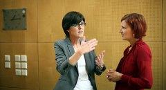 Inge Hannemann im Gespräch mit Katja Kipping