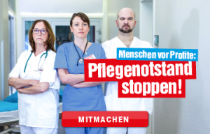 Pflegekampagne DER LINKEN